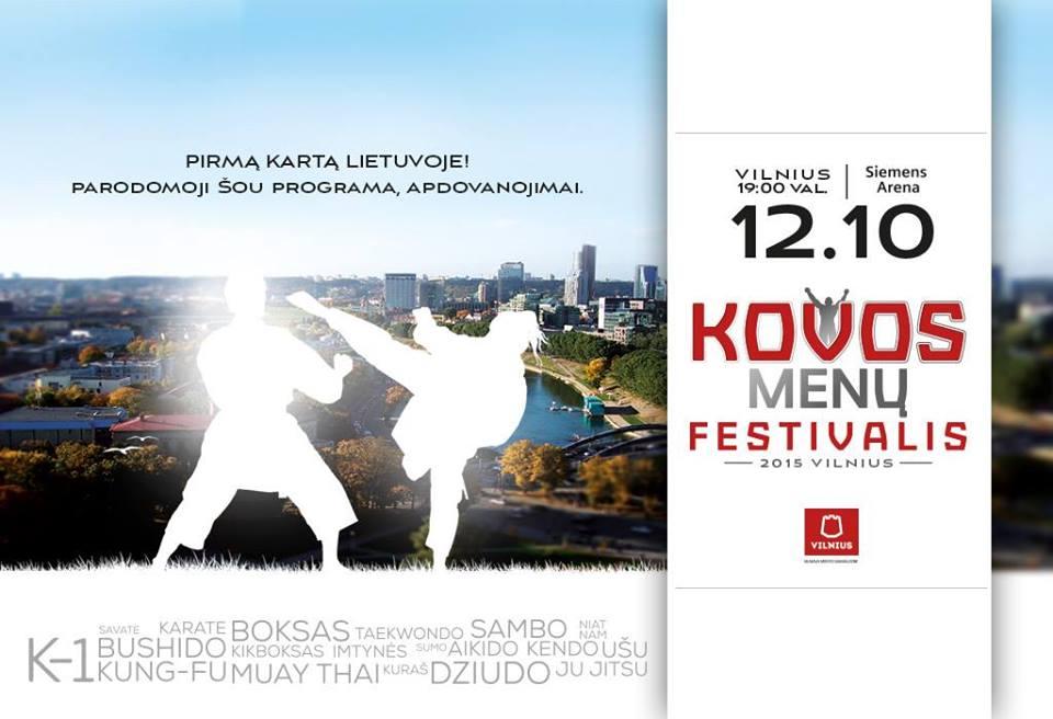 festivalis kovos menu