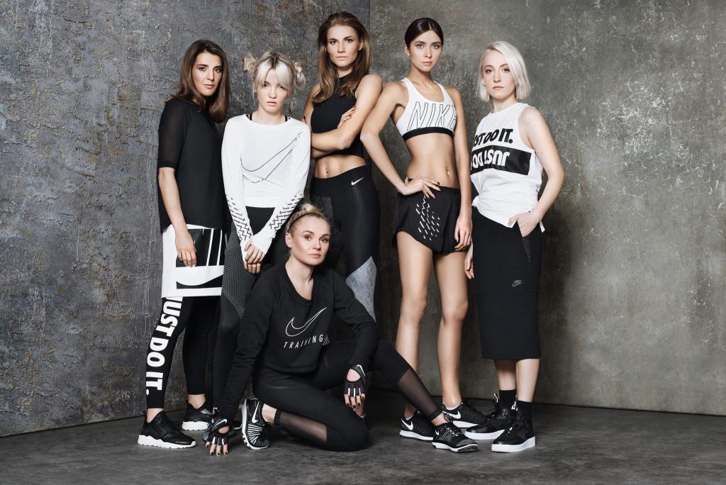 Studijinė nuotrauka. Nike fotosesija su lengvaatlete Airine Palšyte